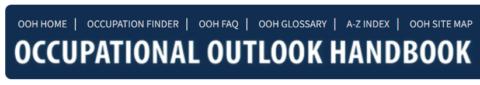 Occupational Outlook Handbook (Bureau of Labor Statistics)