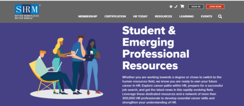 Student and Emerging HR Professional Resources