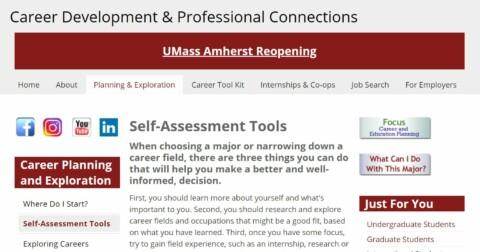 Self-Assessment Tools