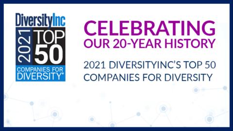 DiversityInc's 2021 Top 50 Companies for Diversity List