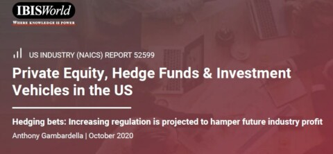 IBIS World Industry Report: Private Equity & Hedge Funds
