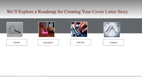 Your Cover Letter's Story (MBA)