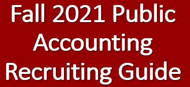 2021 Undergraduate Public Accounting Recruiting Guide