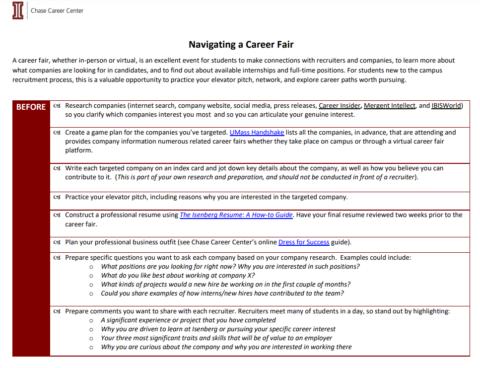 How To Navigate A Career Fair (In Person & Virtual)