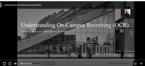 MSA Understanding On Campus Recruiting ZOOM Recording