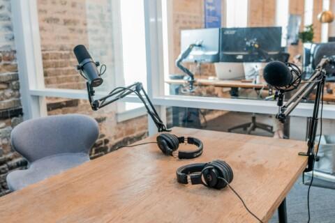 camera and sound recording equipment