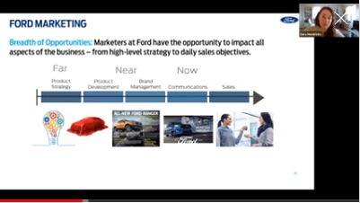 Alumni Talk 2021: Ford Motors.